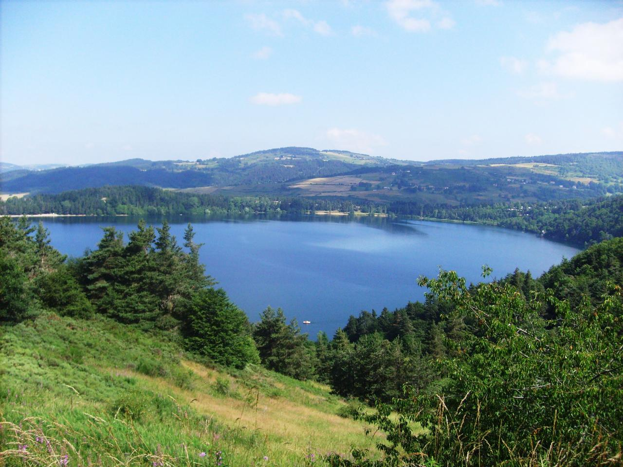 Lac d' Issarlès - ARDECHE